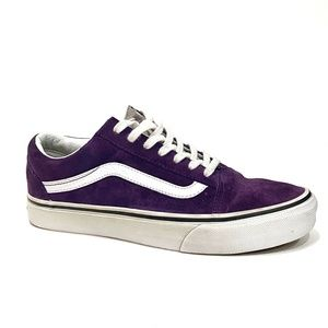 RARE Limited Edition  Purple Suede Old Skool  Vans